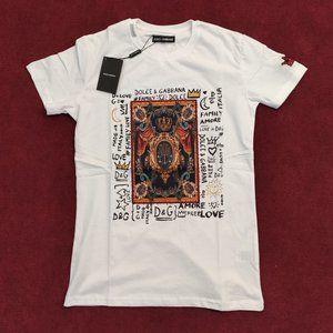 Dolce & Gabbana White Men Tshirt